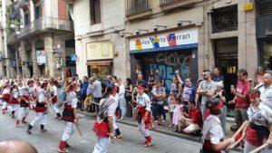 מופע רחוב בברצלונה.צילום: עמיעד טאוב