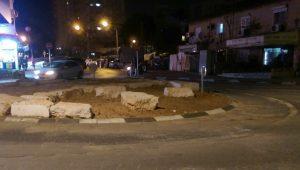 כיכר תחבורה שכונת נווה יהושוע.צילום.מקומונט רמת גן