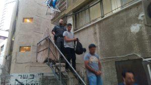 השב''חים שנתפסו במלטשת יהלומים ברמת גן.צילום משטרת ישראל