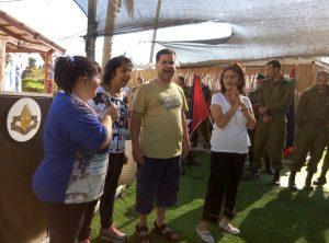 חניכי אקי''ם רמת גן בכלא 4.צילום באדיבות גדעון מיטשניק