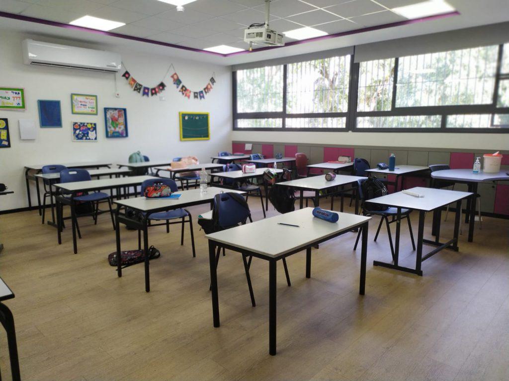 כיתת בית ספר ריקה