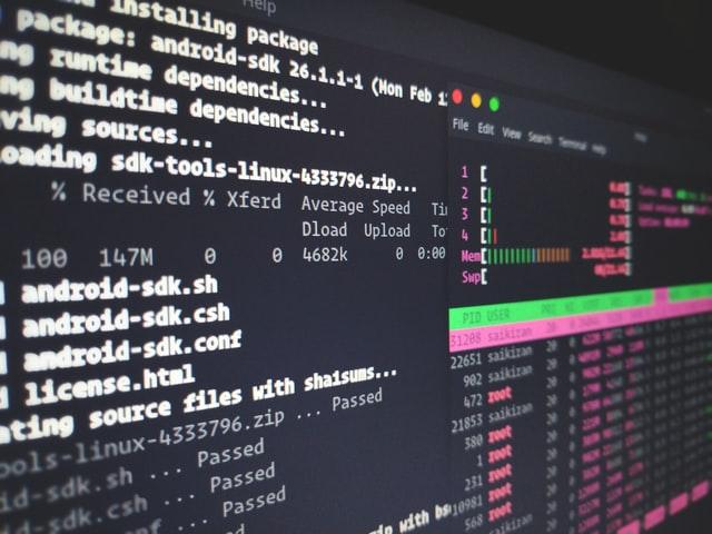 כתיבת קוד בלינוקס