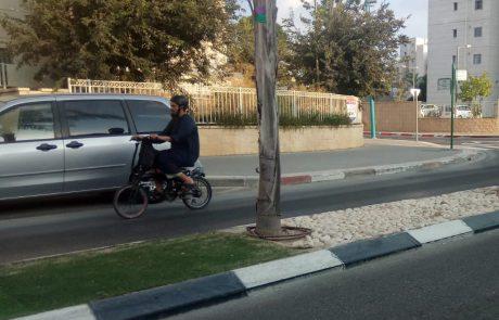 עיריית רמת גן מציגה: 14 פקחים הוסמכו, אך רק 155 דוחות נרשמו על עבירות אופניים חשמליות בשנה שחלפה