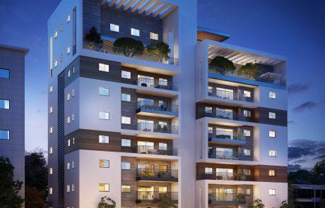 """אושרה תכנית איחוד מגרשים ברחוב אמיר: בקרוב ייבנה בניין חדש עם 33 יח""""ד"""