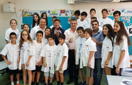 """שר המדע: """"מברך על קייטנות המדע בר""""ג; הן מעשירות את הדור הבא בישראל"""""""