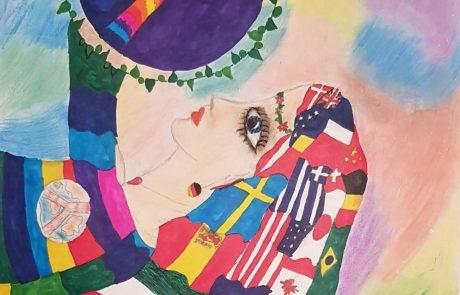 תלמידי רמת-גן מציירים שלום