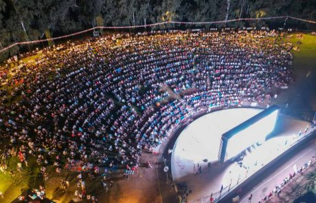 גמר היורו: 4,000 צופים בשידור הפתוח בפארק הלאומי