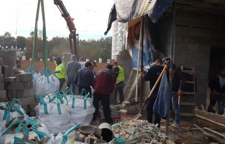 עיריית רמת-גן פועלת נגד תופעת עבירות הבנייה