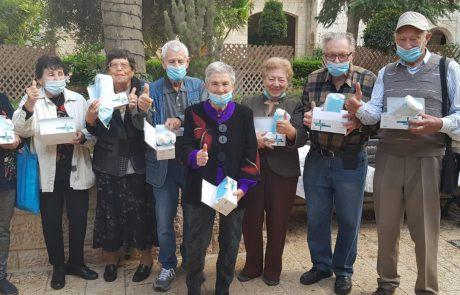 מחמם את הלב ואת החורף: חברי בורסת היהלומים מתגייסים למען ניצולי השואה