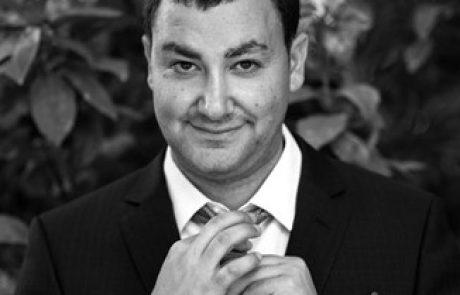"""יונתן צדיק מרמת גן מתמודד בפריימריז לרשימת """"העבודה"""" לכנסת ה-24"""