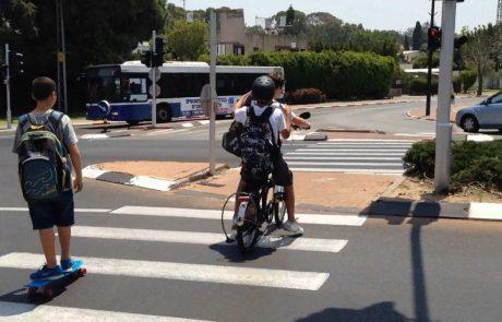 עליה במספר רוכבי האופניים ברמת גן שנפגעו בתאונות דרכים