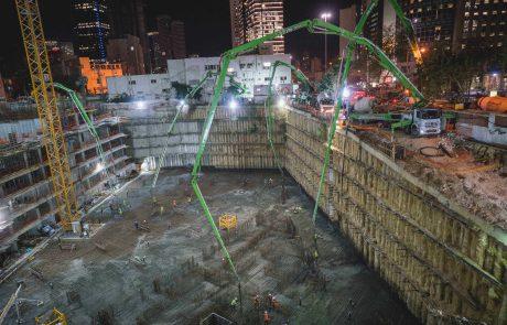 בהשקעה של כמיליארד שקלים – החלה בניית שער הכניסה לרמת גן