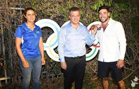 מטוקיו לרמת גן- ערב הוקרה נערך לכבוד ספורטאי המשלחת האולימפית אשר גרים ברמת גן