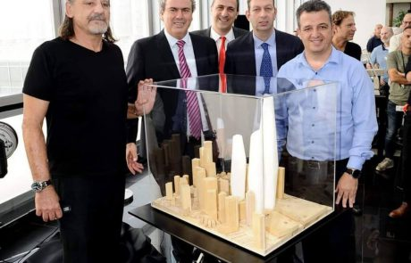 בהשקעה של 5 מיליארד ₪: הושק המגדל הגבוה ביותר בישראל – ברמת גן