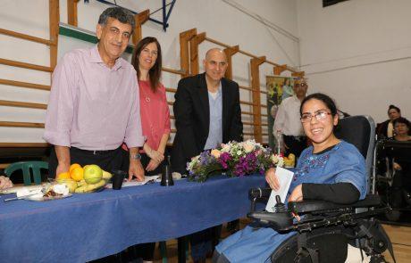 """עמותת איל""""ן חילקה מלגות לסטודנטים עם מוגבלויות בטקס מרגש בספיבק רמת גן"""