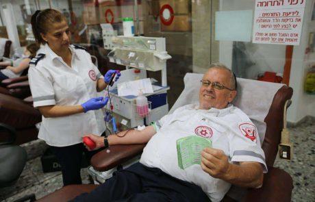 בעקבות מחסור חמור בדם: התרמת דם מיוחדת בכיכר אורדע