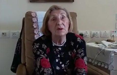 יום השואה | השורדת שמקדישה את חייה למען ניצולי שואה אחרים