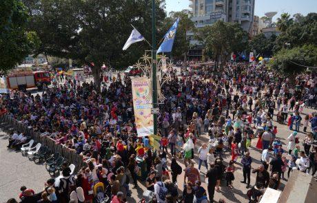 אלפי תושבים נהנו מפורים שמח במיוחד: סיכום החג