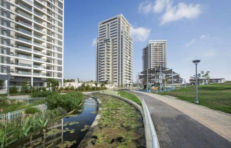 רמת גן במקום השביעי בארץ בהתחלות בניה של מגדלים בשנה וחצי האחרונות