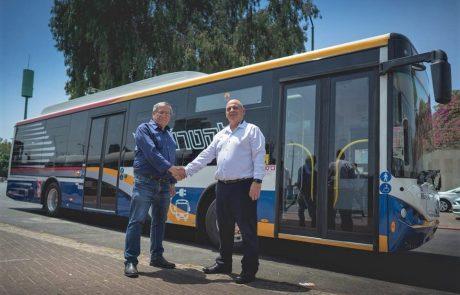 עתיד ירוק: האוטובוסים החשמליים מגיעים לרמת-גן