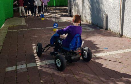 עמותת אור ירוק ברמת גן מציגה: חוויית בטיחות בדרכים לילדים