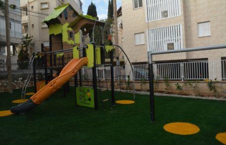 עיריית גבעתיים ממשיכה לחדש גנים ציבוריים והפעם – גן שולמית
