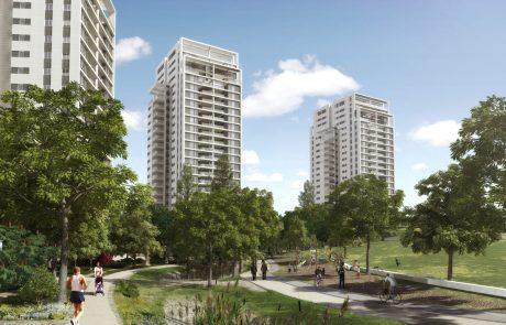 70% מרוכשי הדירות בשכונת קריניצי החדשה הינם תושבי בקעת אונו
