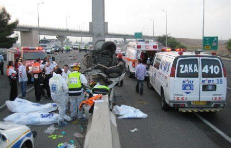 המאבק בתאונות הדרכים: 190 בני אדם נהרגו בתאונות דרכים ברמתגןמאז 1980