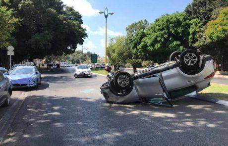 קיץ מסוכן ברמת גן: מעל 1,400 בני אדם נפגעו בתאונות דרכים בעיר בחודשי הקיץ בעשור החולף