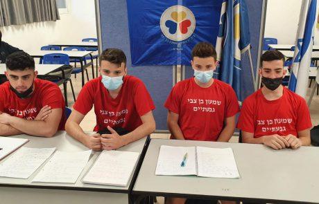 כשספורט וידע נפגשים- תלמידי שמעון בן צבי זכו בחידון ספורט ארצי