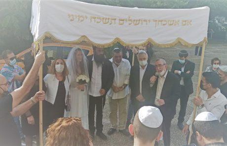 קולולו: זוג האוהבים ערך את החתונה במקום לא שגרתי – בסיוע העירייה
