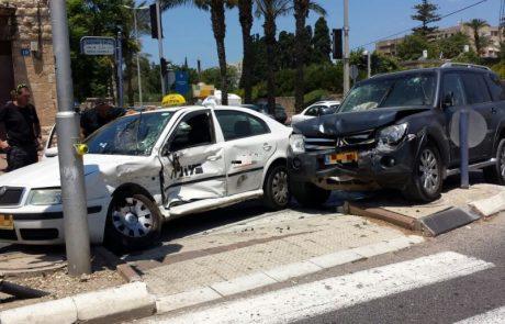 המספרים נחשפים: מעל 280 נפגעים ברמת גן מתאונות דרכים