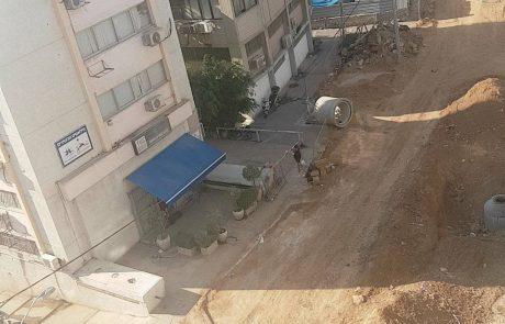 רמת גן, לגור באתר בניה