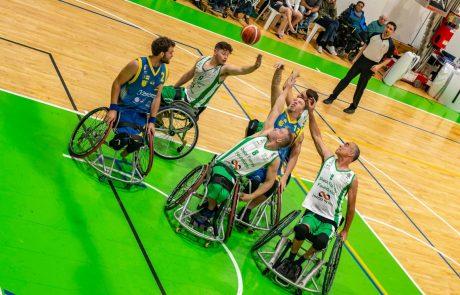 """מועדון ספיבק איל""""ן רמת גן אירח בסופ""""ש האחרון את היורוליג בכדורסל בכיסאות גלגלים"""