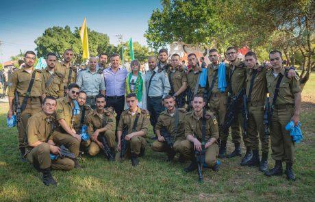 """חיילים, תלמידים ובני משפחה צעדו לזכרו של החייל דניאל פומרנץ ז""""ל"""