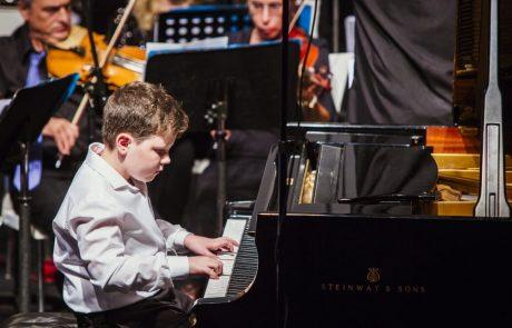 13 מוסיקאים צעירים השתתפו בקונצרט הגאלה של התזמורת הסימפונית רמת גן בנגינה ובשירה