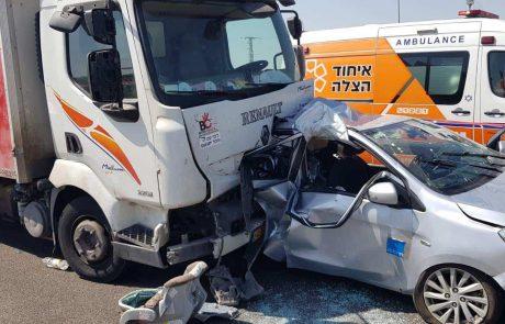 אסון כבד: 240 תאונות דרכים במעורבות רכב כבד בעשור האחרון ברמת גן