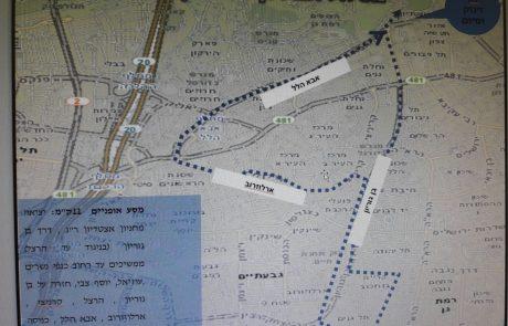 הסדרי התנועה לסובב אופניים רמת גן