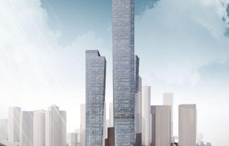 רמת גן אישרה את הקמת המגדל הגבוה בישראל, בן 120 קומות, בבורסה ליהלומים