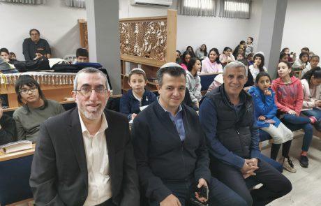 """לאחר שנים של הזנחה: נחנך בית הכנסת המחודש בבי""""ס מורשת משה"""