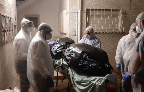 בן 45 נמצא הלילה במצב ריקבון בביתו – חשד לקורונה