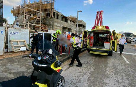 ראשוני | תאונת עבודה: פיגומים קרסו בבניין במזרח העיר