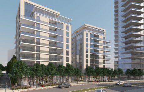נדלן: רחוב ביאליק ישנה את פניו, 45 קומות חדשות בשכונת תל בנימין