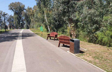 """נחנך """"שביל יונתן"""": טיילת הליכה ואופניים חדשה על גדת הירקון ברמת גן"""