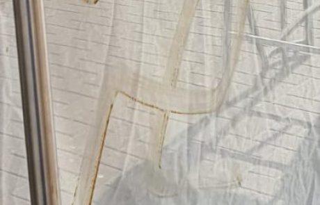 יום השואה 2021: צלבי קרס רוססו על חנות ברמת גן